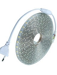 cheap -10m Flexible LED Light Strips 600 LEDs 5050 SMD Warm White / White / Red Waterproof / Cuttable / Holiday 220-240 V