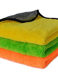 abordables -autoyouth super épais chiffons de nettoyage de voiture en microfibre de peluche entretien automobile microfibre cire de polissage