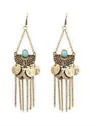 cheap -Women's Drop Earrings Vintage Bohemian Punk Rock Fashion Boho Resin Earrings Jewelry Bronze For Party Daily Casual Sports Work