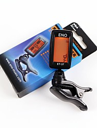 cheap -ENO ET-37 LCD Tuner Mini Clip-on Guitar Chromatic Bass Violin Ukulele Tuner Wind Instrument Universal Musical Instrument