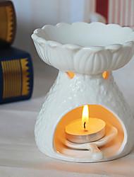 Недорогие -NO Candle Holder Aromatherapy Lamps Нормальная Можжевельник твёрдый Релаксирует кожуImproving Sleep / Способствует хорошему настроению /