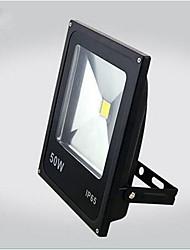 cheap -ZDM 1PC 50W Integrated High Power Waterproof IP65 Ultra Thin Outdoor Light Cast light Cast light (AC85-265V)