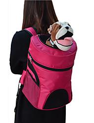 cheap -Cat Dog Carrier Bag & Travel Backpack Portable Breathable Terylene Nylon Green Rose Dark Blue