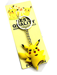 cheap -Cosplay Accessories Inspired by Pocket Little Monster PIKA PIKA Anime Cosplay Accessories Keychain PVC(PolyVinyl Chloride) Men's Women's New Hot Halloween Costumes