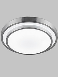 cheap -KAKAXI Flush Mount Downlight Electroplated PVC Mini Style, LED 90-240V / 110-120V / 220-240V Warm White / White LED Light Source Included / LED Integrated