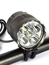cheap -Headlamps Waterproof 8000 lm LED Emitters 1 Mode Waterproof Camping / Hiking / Caving Everyday Use Diving / Boating / US Plug / EU Plug / UK Plug / AU Plug / IPX-6
