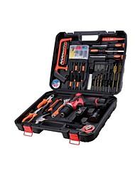 cheap -Multi-Functional Hardware Toolbox Household, Electrician Maintenance Manual Tool Set