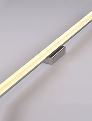 Недорогие -80 см современные 16w привело зеркало лампы ванной света 90-240v из нержавеющей и акриловые настенные светильники макияж освещения