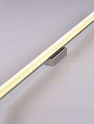 cheap -70cm 16W LED Mirror Lamp Vanity Light Bathroom Lights 90-240V Stainless Steel Acrylic Wall Lights Make-Up Lighting