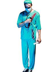 cheap -Men's Nurse Doctor Halloween Costume Party Fancy Cosplay