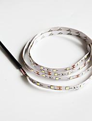 Недорогие -SENCART 1шт Холодный белый DC Powered Можно резать / Подсветка для авто / Простота транспортировки 12 V Светодиодная лента