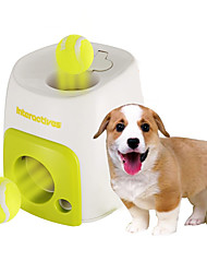 cheap -Ball Chew Toy Interactive Tennis ball Dog Toy Pet Toy 1pc Food Dispenser Tennis Ball Plastic Gift