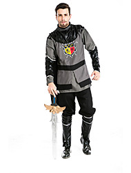 cheap -Warrior Cosplay Costume Halloween Festival / Holiday Terylene Carnival Costumes Patchwork / Top