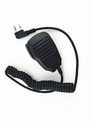 Недорогие -микрофон плечо рацию микрофон ясный звук и падение устойчивостью подходит для kendood Baofeng 365 Wouxun TYT
