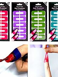 Недорогие -Аксессуары для ногтей Прочный Простой Классика Повседневные Инструмент для ногтей ног сепараторы для Маникюр палец носок