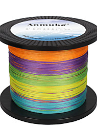 cheap -PE Braided Line / Dyneema / Superline 100M / 110 Yards 300M / 330 Yards 500M / 550 Yards PE 80LB 60LB 50LB 3 mm Sea Fishing Bait Casting Jigging Fishing / Freshwater Fishing / 45LB / 40LB / 35LB