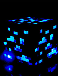 cheap -Light Up Redstone Ore / Bluestone Ore New & Boxed official Product New Brighter Version