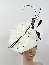 Недорогие -Перья / Сеть Кентукки дерби шляпа / Fascinators с 1 Свадьба / Особые случаи Заставка
