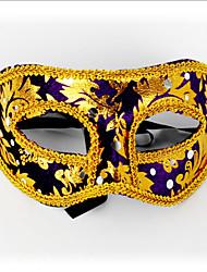 Недорогие -1шт мс маскарад маска для Хэллоуина костюм партии случайный цвет
