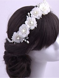cheap -Chiffon Imitation Pearl Headbands Headpiece Classical Feminine Style
