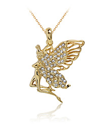 cheap -Women's Pendant Necklace Butterfly Animal Fashion Rhinestone Rose Gold Plated Alloy Golden Necklace Jewelry For Party Daily Casual