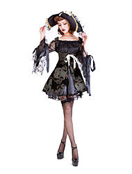 cheap -Pirate Cosplay Costume Party Costume Women's Halloween Oktoberfest Beer Festival / Holiday Terylene Women's Carnival Costumes Solid Colored