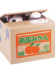 cheap -1 pcs Itazura Coin Bank / Money Bank Piggy Bank / Money Bank Stealing Coin Bank Saving Money Box Case Piggy Bank ABS Cat Electric Adults' Boys' Girls' Toys Gifts