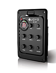 cheap -Details about  JOYO JE-307 5 Band EQ Equalizer Preamp Acoustic Guitar Pickup with Digital Tuner