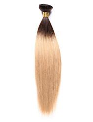 cheap -Indian Hair Yaki 8A Human Hair Natural Color Hair Weaves / Hair Bulk Human Hair Weaves Human Hair Extensions