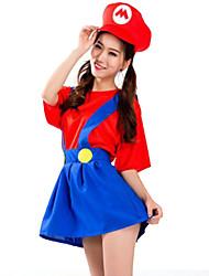 abordables -Déguisement Halloween Femme Superhéros Costume de Cosplay Costume de Soirée Halloween Costumes Carnaval