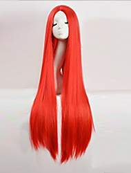 cheap -cos wig red in long straight hair wigs 100cm long wigs Halloween