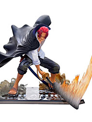 cheap -Anime Action Figures Inspired by One Piece Akakami no shankusu CM Model Toys Doll Toy Men's