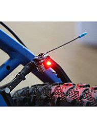 Недорогие -Светодиодная лампа Велосипедные фары Задняя подсветка на велосипед огни безопасности LED Горные велосипеды Велоспорт Велоспорт Водонепроницаемый Супер яркий Портативные Осторожно! С-клеток 100 lm