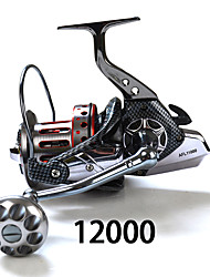 cheap -Spinning Reels 471 11 Ball Bearings Exchangable Sea Fishing Sp12000 Fishdrops