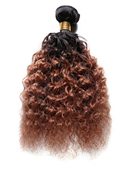 cheap -1pc tres jolie deep wave 10 18inch color t1b 30 ombre black auburn human hair weaves