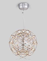 Недорогие -30 cm LED Подвесные лампы Металл Шары Окрашенные отделки Современный современный 110-120Вольт / 220-240Вольт