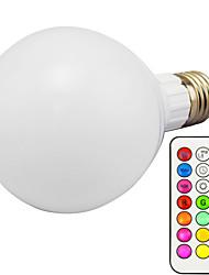 abordables -1pc 10 W Ampoules LED Intelligentes 800 lm E26 / E27 G95 1 Perles LED LED Intégrée Intensité Réglable Commandée à Distance Décorative RGBWW 85-265 V / 1 pièce / RoHs