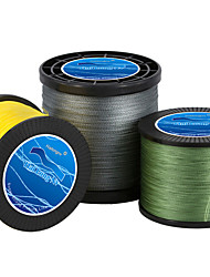 cheap -PE Braided Line / Dyneema / Superline 4 Strands 300M / 330 Yards 500M / 550 Yards 100M / 110 Yards PE 80LB 60LB 50LB Abrasion Resistant
