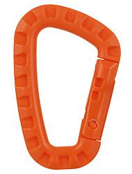 cheap -Buckle Multitools Carabiner Pocket Multi Function Convenient Nylon Hiking Climbing Camping 1 pcs Orange Green Khaki