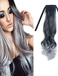 cheap -Body Wave Classic Synthetic Hair Hair Extension Tape In Ombre Daily