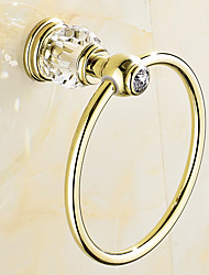 cheap -Towel Ring Contemporary Stainless Steel Bathroom Towel Rack Polished Golden 1pc