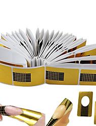 Недорогие -100 шт Инструменты для маникюра Прочный Простой Классика Повседневные Инструмент для ногтей для