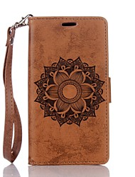 cheap -Case For Huawei P9 Lite / Huawei / Huawei P8 Lite P10 Lite / Huawei P9 Lite / P8 Lite (2017) Wallet / Card Holder / with Stand Full Body Cases Mandala Hard PU Leather
