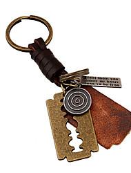 cheap -Keychain Key Chain PU Leather Metalic For Boys' Girls' Birthday 1 pcs