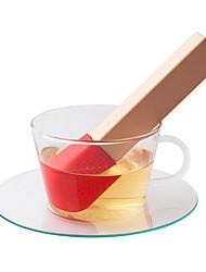 Недорогие -Ситечко для чая Повседневные Подарок,силиконовый 1