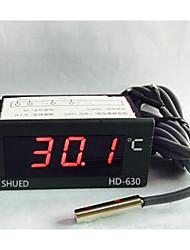 cheap -Led Digital Display Meter Thermometer Water Temperature Meter Industrial HD630 Digital Temperature Display