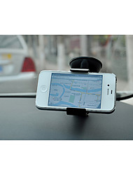 cheap -Double Car Chuck Rack / Vehicle GPS Mini Mobile Phone Navigator Support / Car Seat Fish Mouth Clip Clip Mobile Phone