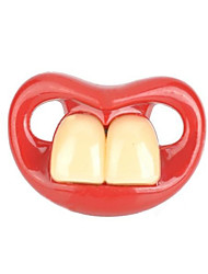 cheap -Buck Teeth Joke Practical Joke Gadget Funny & Reluctant Silicone Kid's Boys' Girls' Toy Gift 1 pcs