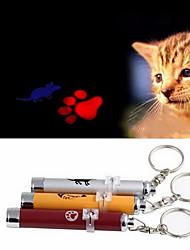 Недорогие -Лазерные игрушки Кошка Собака Животные Игрушки Электроника Отпечаток ступни Мышь Алюминий Подарок