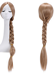 cheap -Synthetic Wig Straight Yaki Straight Yaki With Ponytail Wig Blonde Dark Blonde Synthetic Hair Women's Blonde